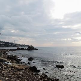 Фотография пляжа Лиго Морская, предоставленная М. Майоровым