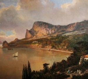 Побережье Симеиза начала 20 века
