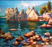 Нарышкинские камни, художник Поздеев Игорь
