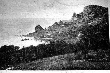 Курорт Симеиз - начало 20 века
